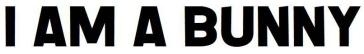 I am a bunny logo
