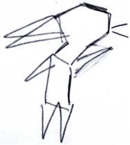 Origami style rabbit8