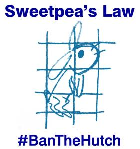 #BanTheHutch logo dark blue text