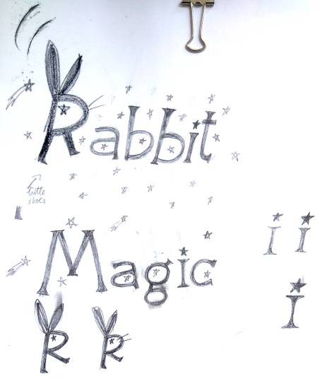 Magic Rabbit lettering